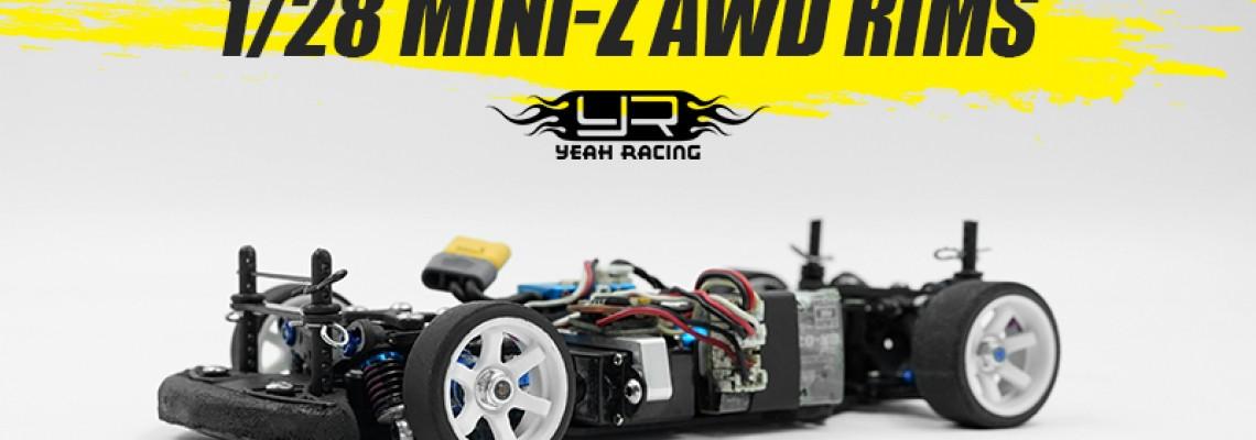 Yeah Racing 1/28 Mini-Z AWD Rims