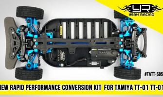 Rapid Performance Aluminum Conversion Kit For Tamiya TT-01 & TT-01E