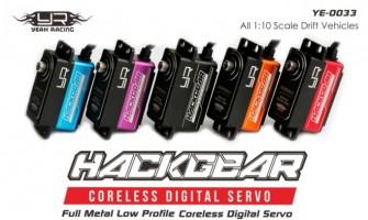 Hack-Gear Aluminum Case Lowe Profile Digital High Sped Coreless servos