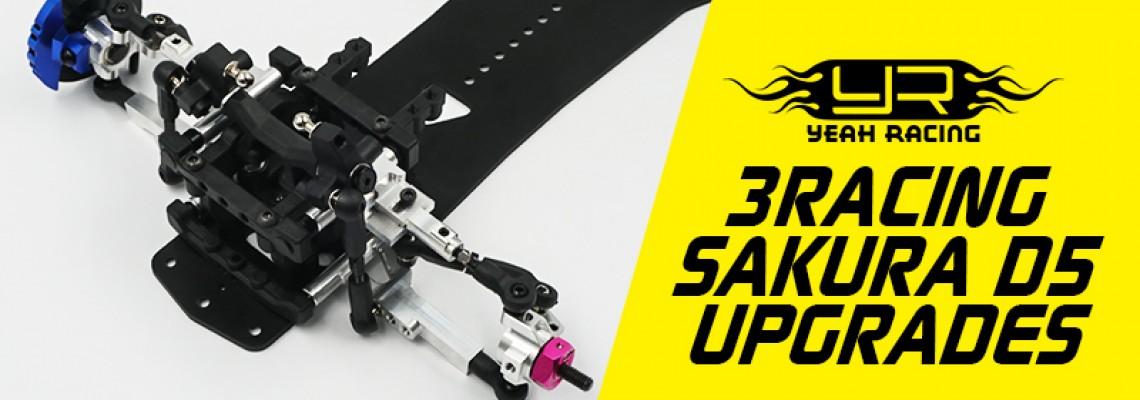 3racing Sakura D5 Upgrades Preview!
