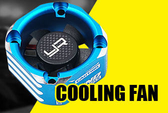 yeah racing cooling fan 30mm 40mm ya-0180 tornado high speed