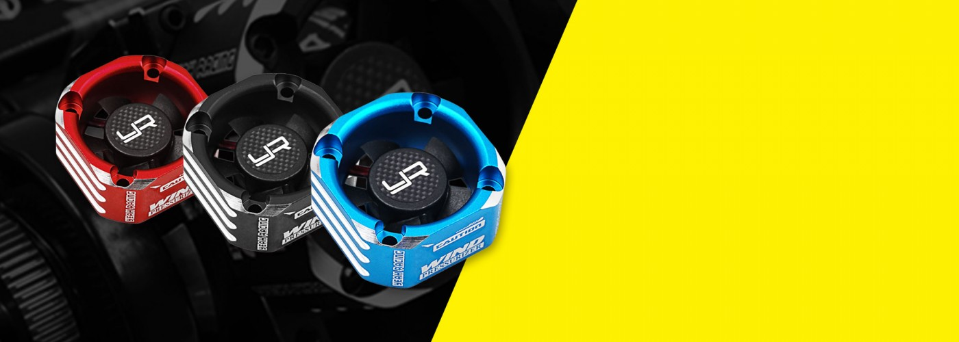 yr yeah racing aluminum 30mm booster cooling fan ya-0576
