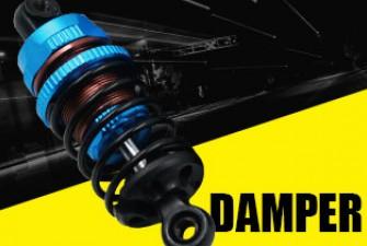 yeah racing beginner damper shock spring set