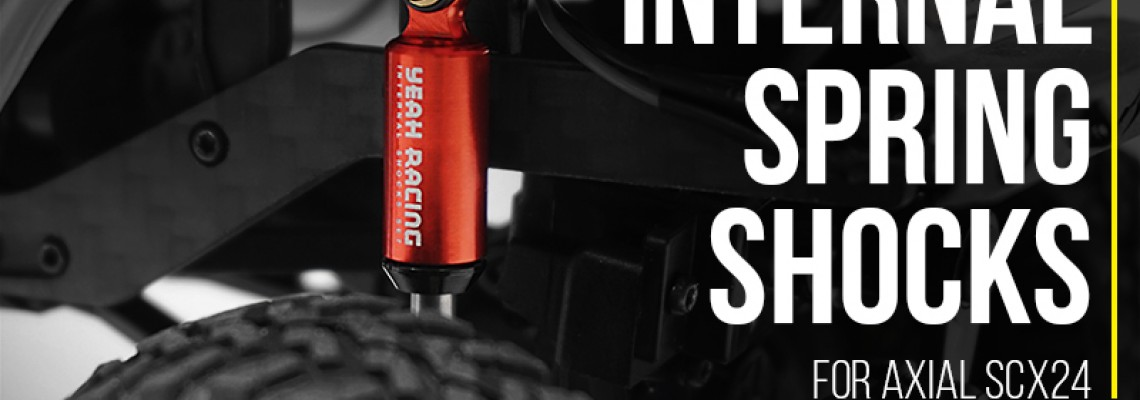 Internal Spring Scale Shocks For Axial SCX24