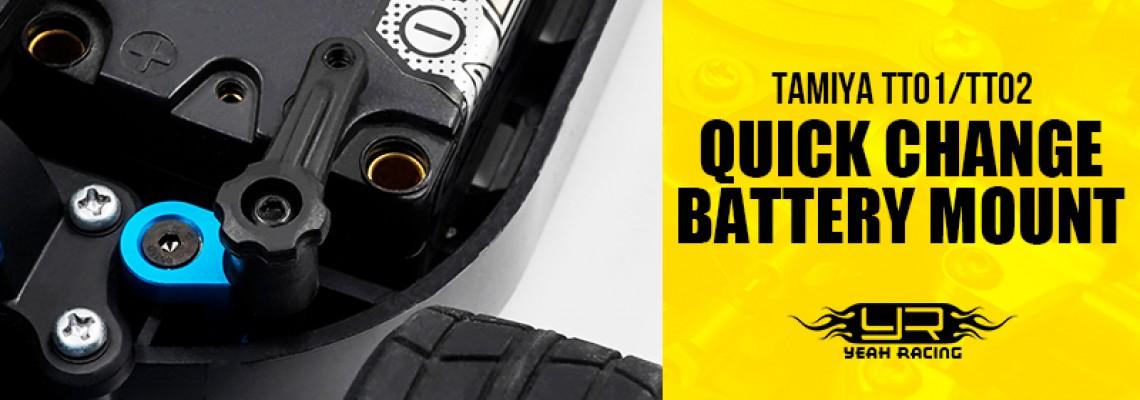 Tamiya TT01/TT02 Quick Change Battery Mount