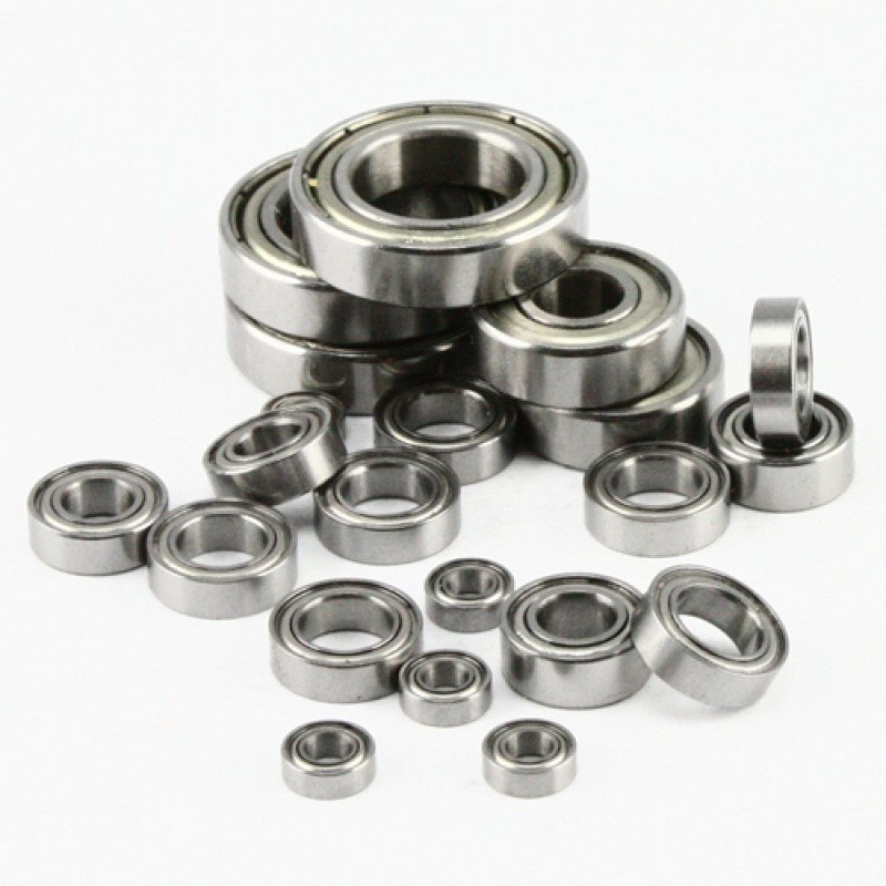 RC Ball Bearing Set with Bearing Oil For 1:10 Tamiya TRF 415 Chassis RC Touring