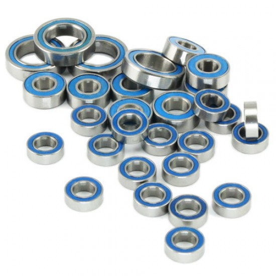 RC PTFE Bearing Set with Bearing Oil For 1:10 Tamiya M-03/04 & FF02 RC M Chassis and Touring