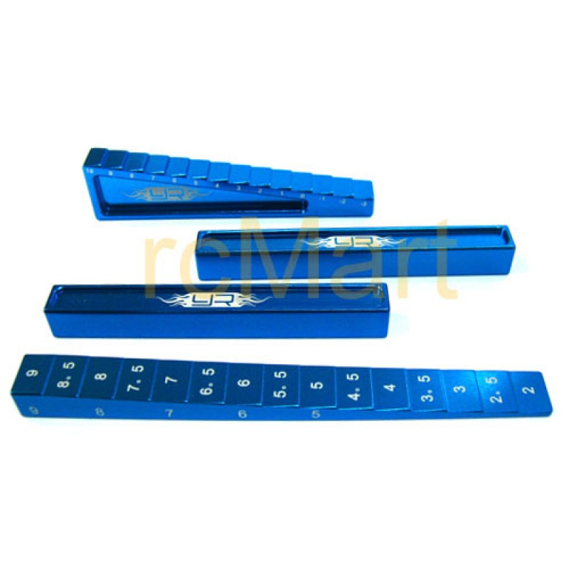 Chassis Setting Kit (BU) for 1:10 & 1:8 On Road