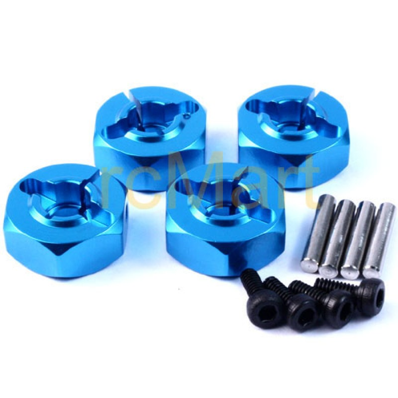 Alloy Wheel Washer Set Thick 6mm (BU) For 1/10 RC Touring Drift Crawler Car