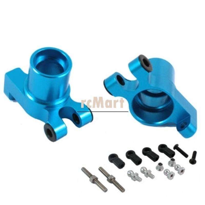 Alum Rear Knuckle Arm (BU) For TA01/TA02