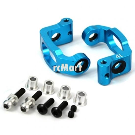 Aluminum Bearing C-Hub 4 Deg. (BU) for Tamiya TA05IFS
