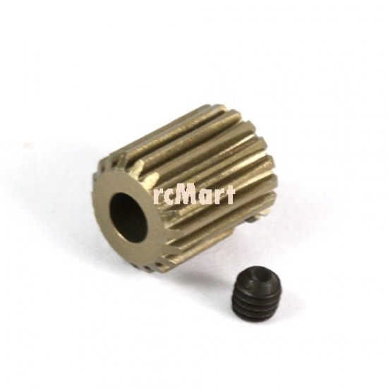 Aluminum 7075 Hard Coated Motor Gear/Pinions 64P 17T