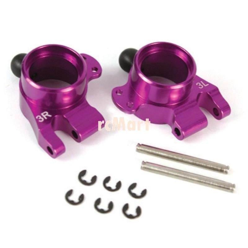 Aluminum Rear Knuckle Arm (Left & Right) 3 Degree (PP) for HPI E10
