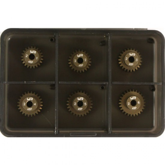 Pinion Gear Super Hard Combo set (48P 21T-26T 6pcs )