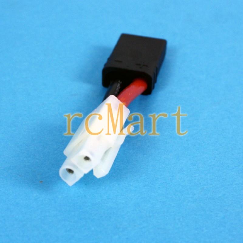 Trax Plug (Female) to Tamiya Plug (Male)