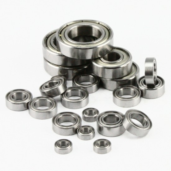 RC Ball Bearing Set with Bearing Oil For Traxxax E-Revo 5608/56085/56087-1& 5603/56036-1