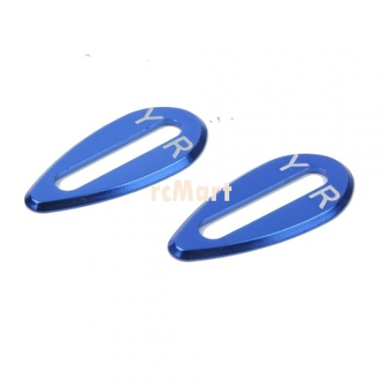 Aluminum Body Wing Protector (Dark Blue) (2pcs) for On Road Bodies