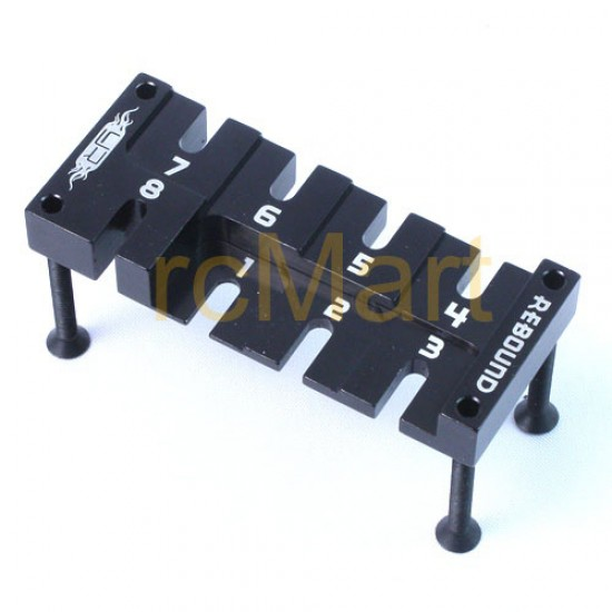 Aluminum Damper Rebound Adjusting Tool (BK)