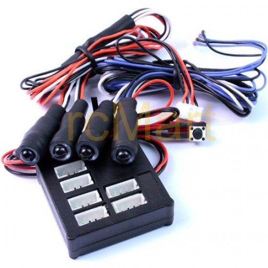 Angeleye Main Unit w/LED (BU/RD)  Light Kit set