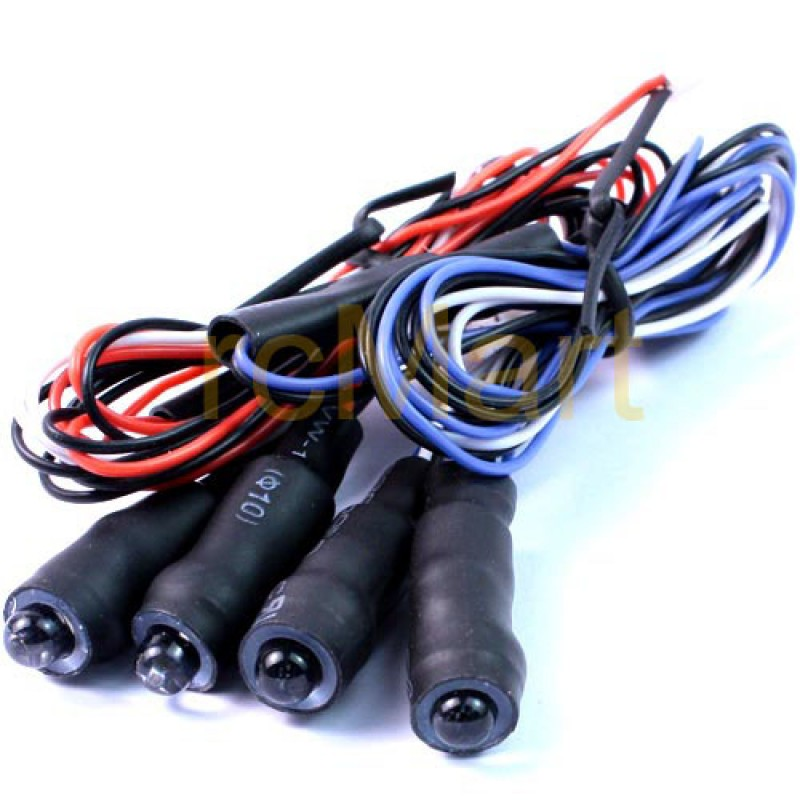 Angeleyes Front and Rear LED Light Cable 2set (BU/RD) (YR Plug)