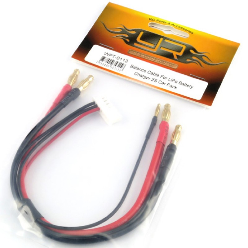 Balance Cable For LiPo Battery Charger 2S Car Pack