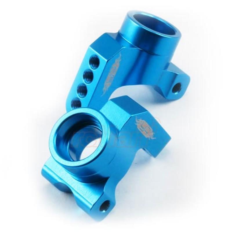 Rear Hub/Knuckle Arm Aluminum Blue For Tamiya XV-01