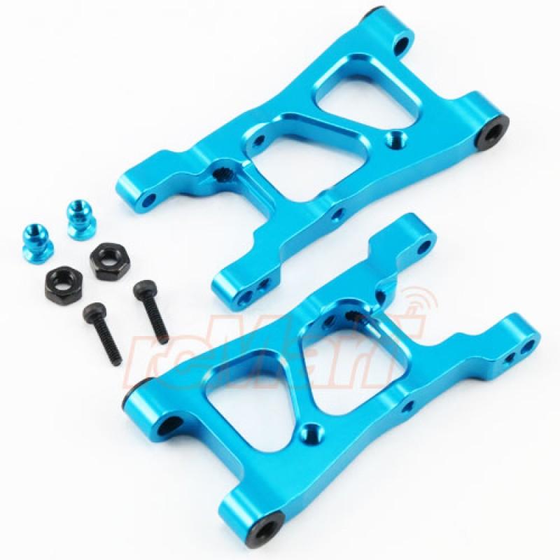 Rear Arm Set Aluminum Blue For Tamiya XV-01