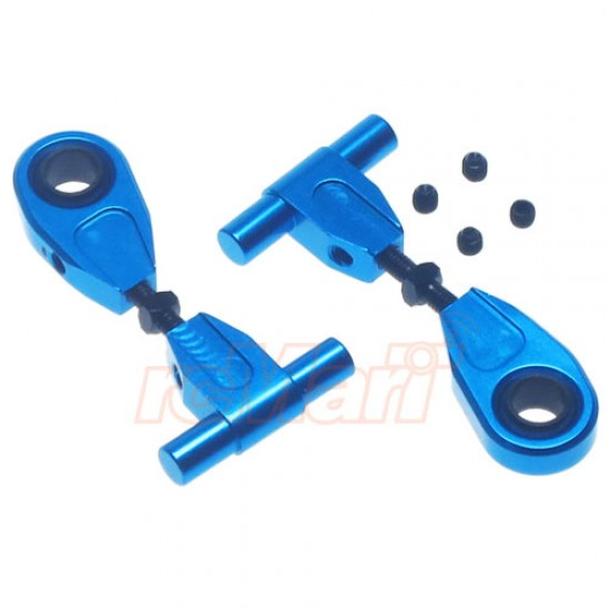 Aluminum Adjustable Front Upper Arm Set For Tamiya TT02
