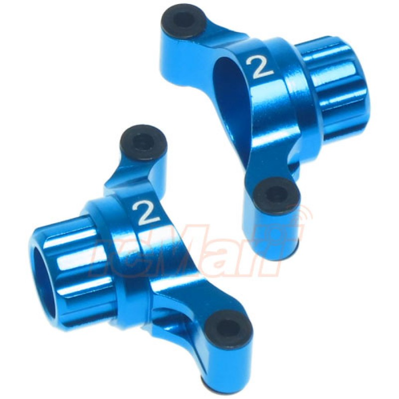 Aluminum Rear Hub/Knuckle Arm 2 Degree For Tamiya TT02