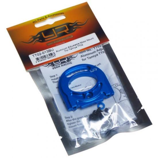 Aluminum Adjustable Motor Mount For Tamiya TT02 TT02S TT02B