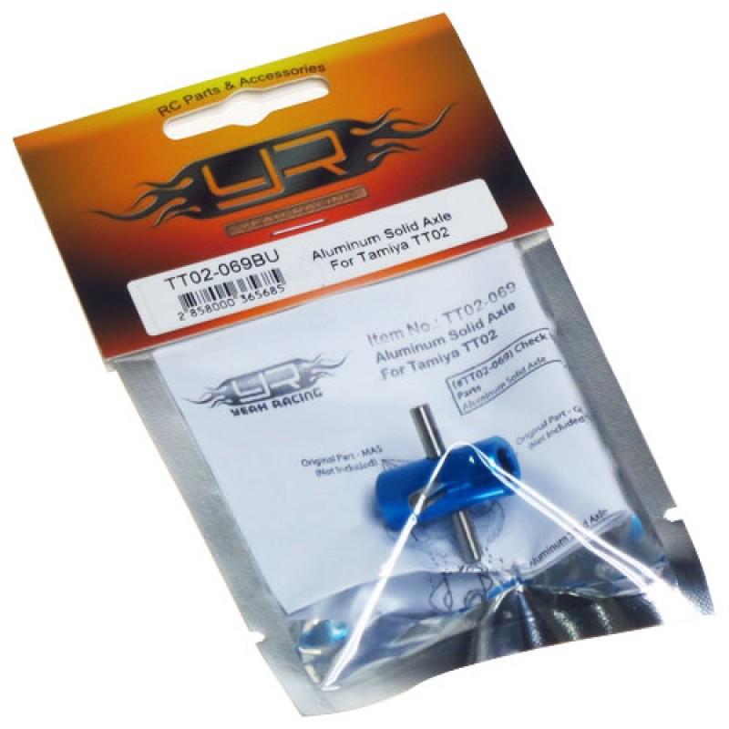 Aluminum Solid Axle For Tamiya TT02 TT02B