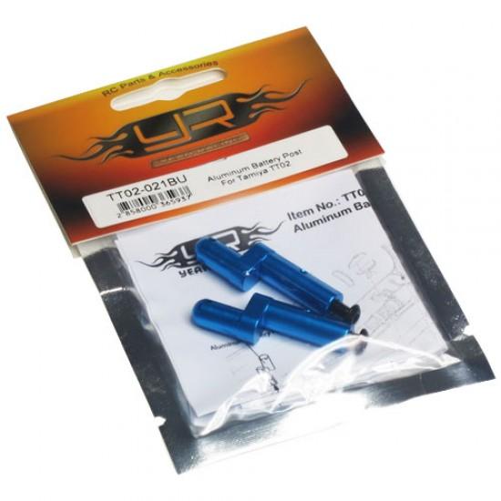 Aluminum Battery Post For Tamiya TT02 TT02B
