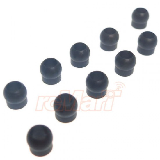 Suspension Pivot Ball (10 pcs) For Tamiya 3 Racing Spec R RC Car Kits
