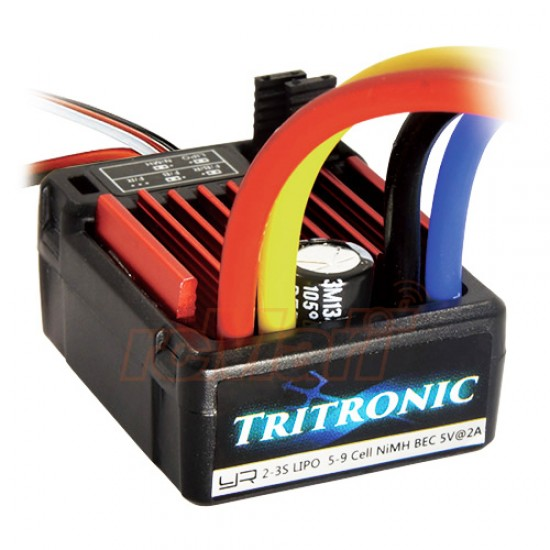 Tritronic 1/10 Waterproof Brushed 60A ESC