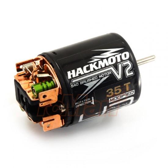 Hackmoto V2 35T 540 Brushed Motor