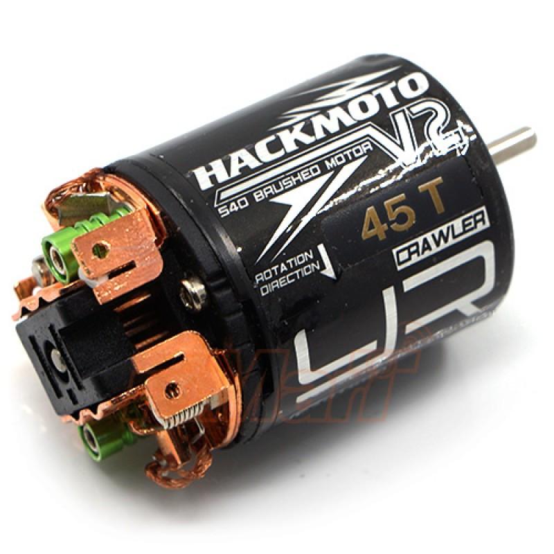 Hackmoto V2 45T 540 Brushed Motor