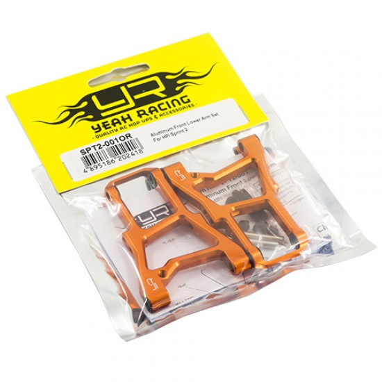 Aluminum Front Lower Arm Set For HPI Sprint 2