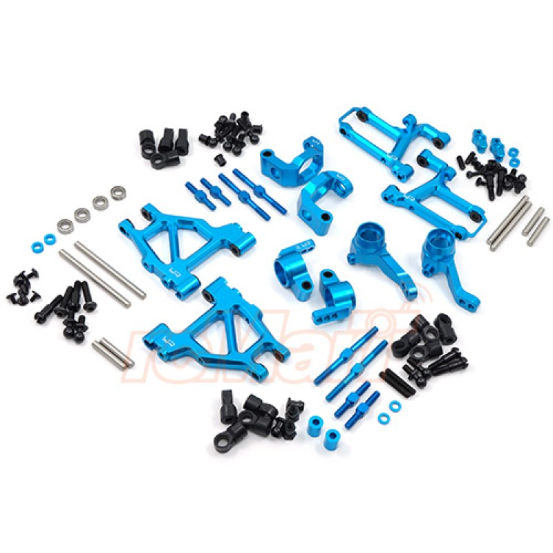 Aluminum Long-Span Suspension Arms And Knuckles Performance Upgrade Kit for Tamiya M05 M06