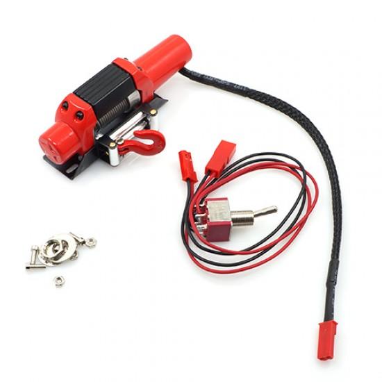 1/10 RC Rock Crawler HD Full Metal Steel Wired Winch Control Unit Type C
