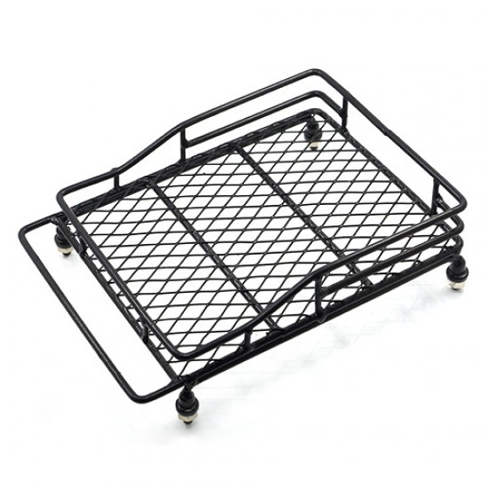 1/10 RC Rock Crawler Accessories Metal Mesh Wire Luggage Tray Type C (14cm X 10cm X 3.5cm)