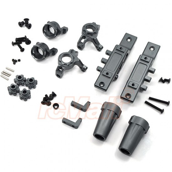 Aluminum Heavy Duty Upgrade Combo Set S01 For Axial Wraith