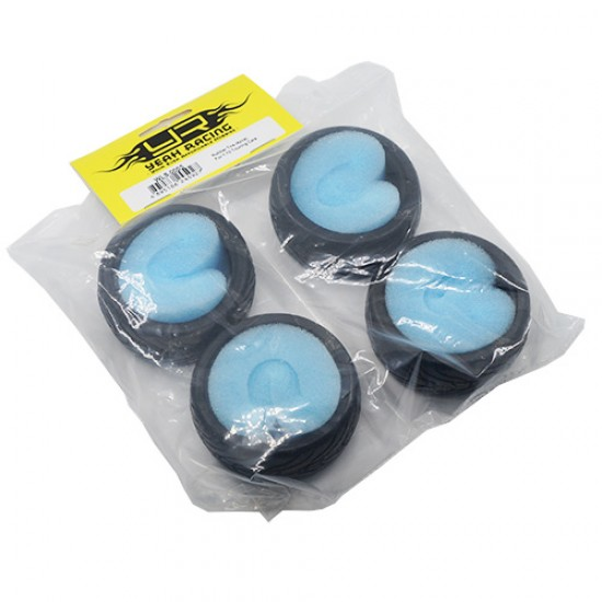 Rubber Tire 4pcs For 1/10 Touring Cars