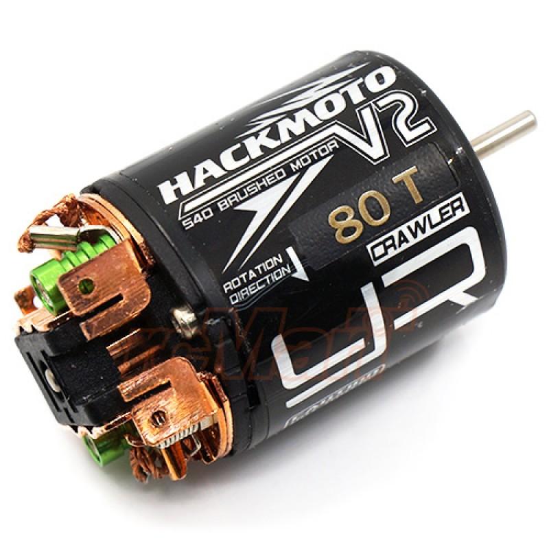 Hackmoto V2 80T 540 Brushed Motor