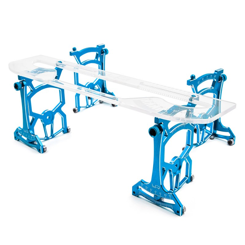 Universal Set Up System Ver.2 For 1/10 On Road Blue