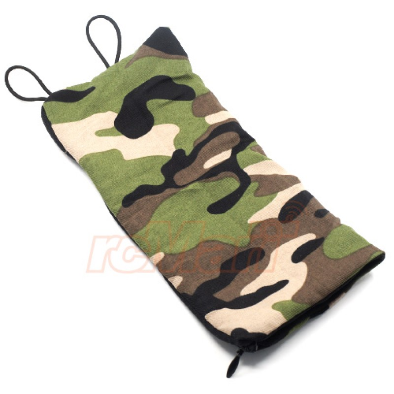 1/10 RC Rock Crawler Accessory Camouflage Sleeping Bag