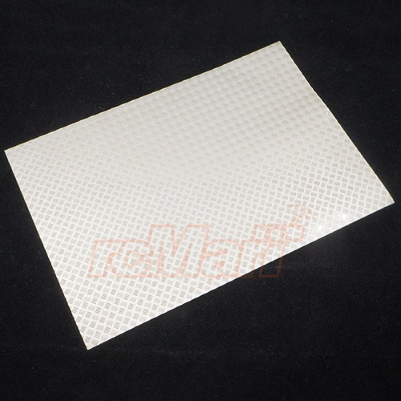 Steel Diamond Plate Accessory Type A 14cm X 20cm For Crawler Tractor Truck