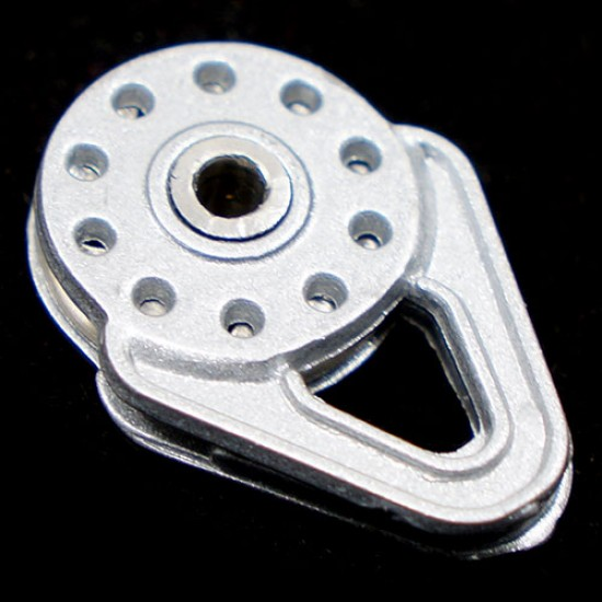 Heavy Duty Winch Snatch Block Silver