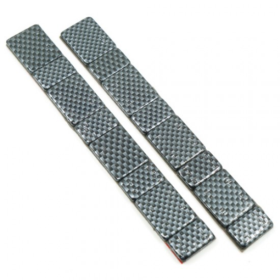 RC Balance Weight 5g 10g 8pcs each Graphite design ver