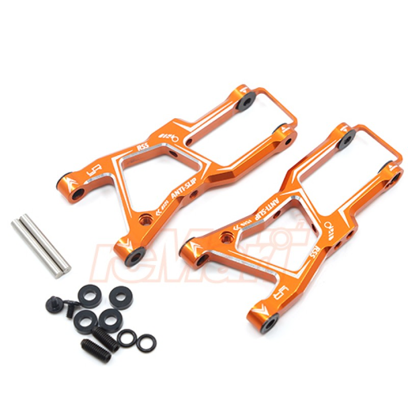 Aluminum Front Lower Arm Set For HPI RS4 Sport3 Orange