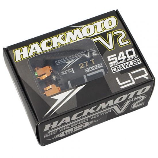 Hackmoto V2 27T 540 Brushed Motor